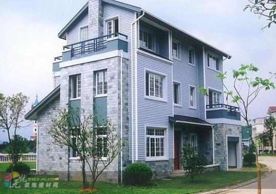 别墅,排屋,多层公寓和新型乡村住宅外墙的理想装饰材