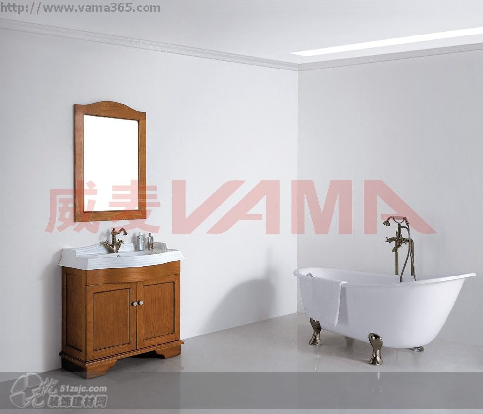 实木卫浴柜v-19094a/b