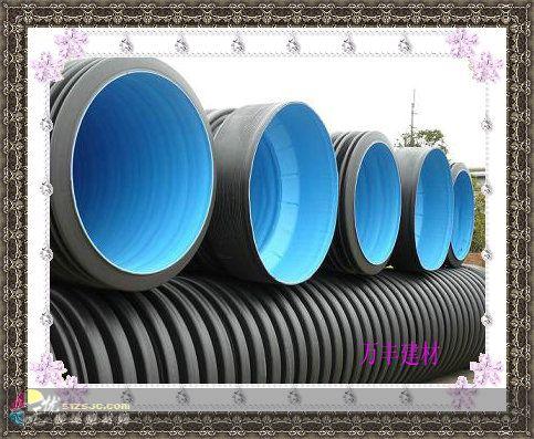 UPVC排水;UPVC蓝白给水;UPVC螺旋消音排水管(实壁、中空)
