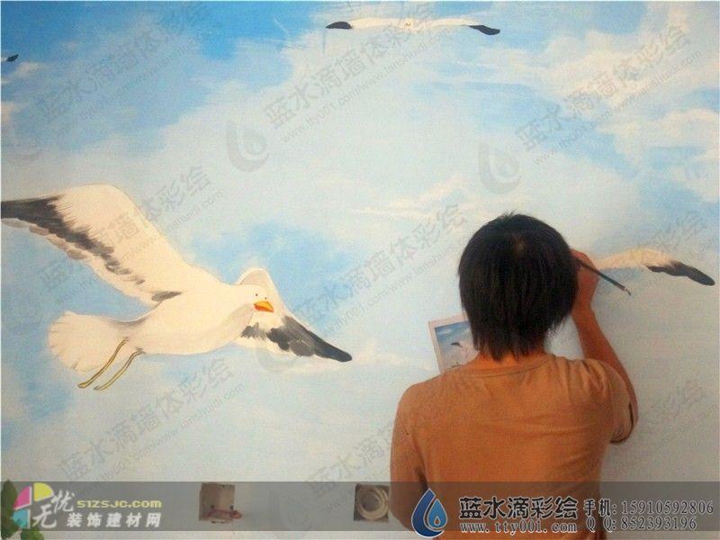 艺术涂料,墙艺工艺画,装饰画-北京蓝水滴文化艺术有限公司的设计师