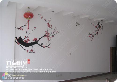南昌手绘墙