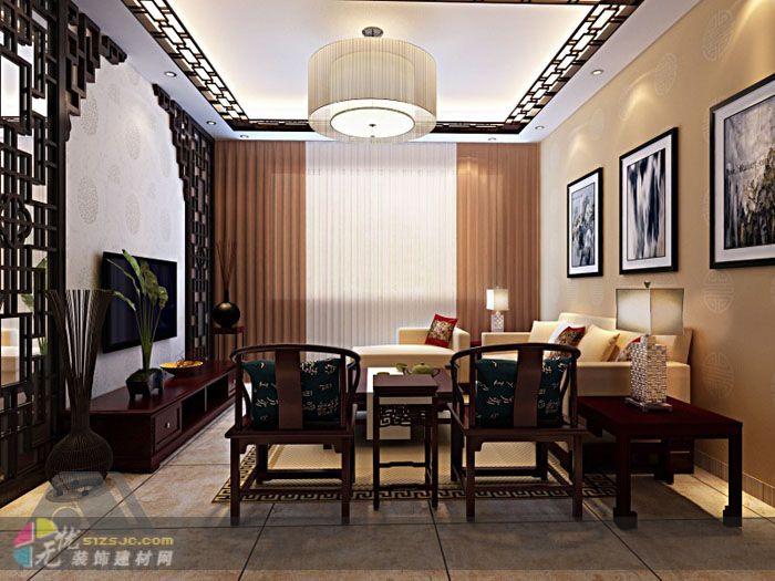 走廊雕花装修效果图 密度板雕花镂空装饰隔断