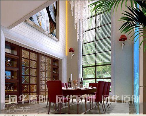 中空别墅设计方案 设计展示 风华原创空间艺术设计工作室