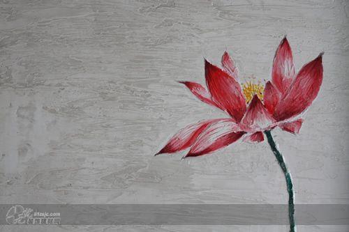 图片标题:手绘墙