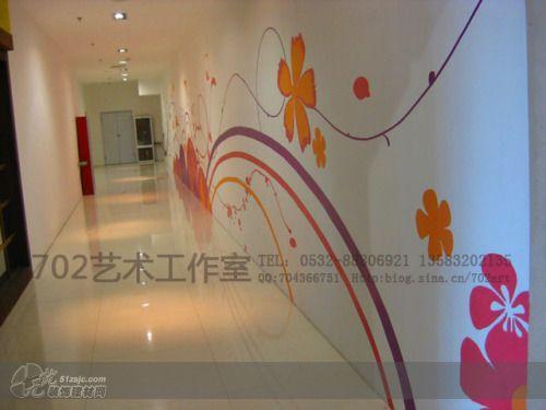 图片标题:走廊墙绘