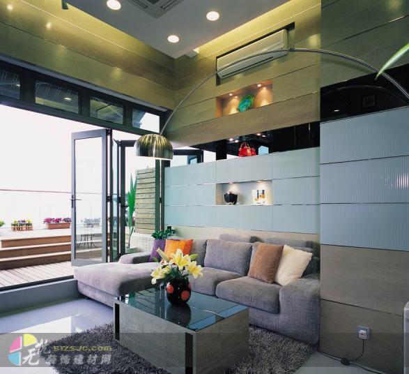 海典居 别墅 175㎡ 客厅装修效果图 简约风格复式楼设计 2