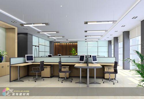 图片标题:开敞办公室