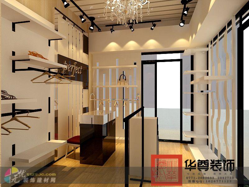 欧美街头风格女装服装店-欧式-案例展示-广西南宁华