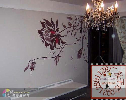 图片标题:作品名称.餐厅手绘墙