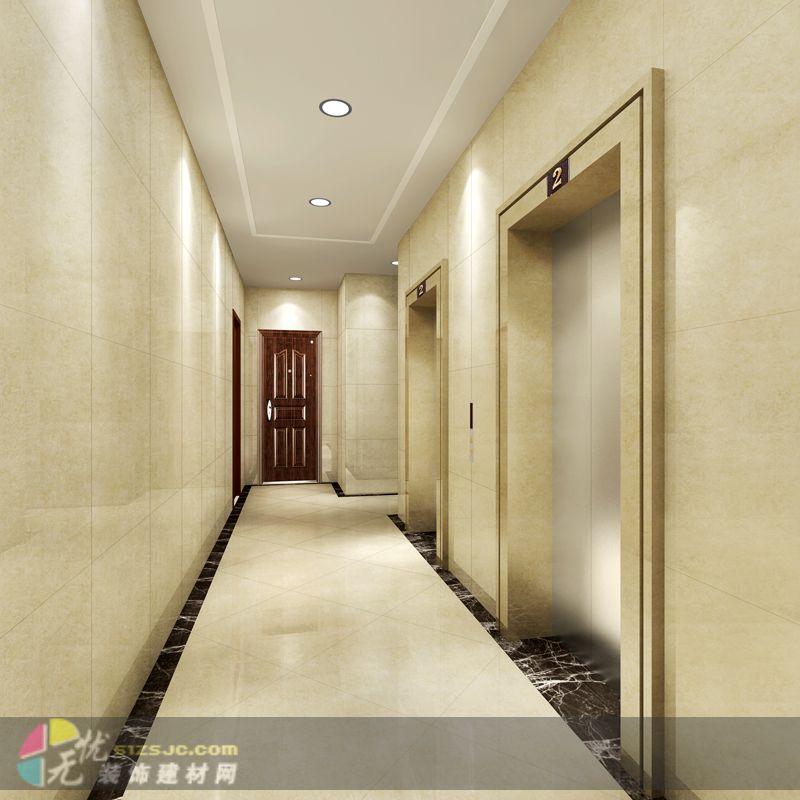 住宅楼入户大堂电梯前室