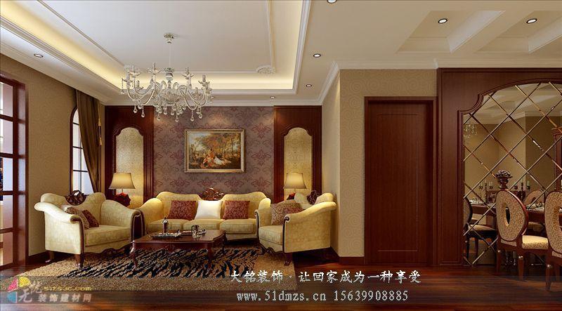 重色调的欧式风格家庭装修设计