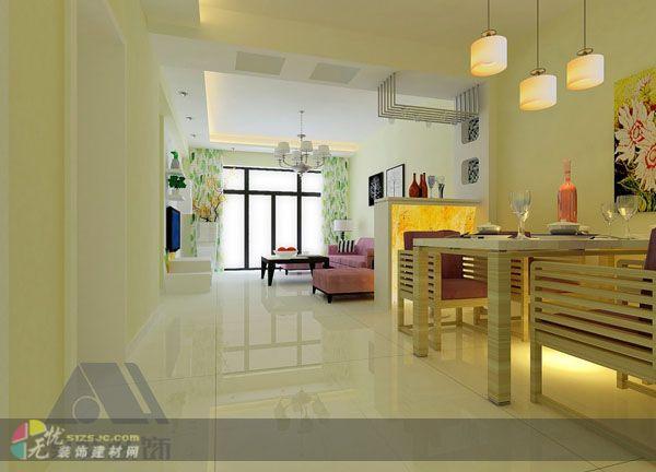 裕丰英伦小区家庭装修室内鞋柜设计效果图展示