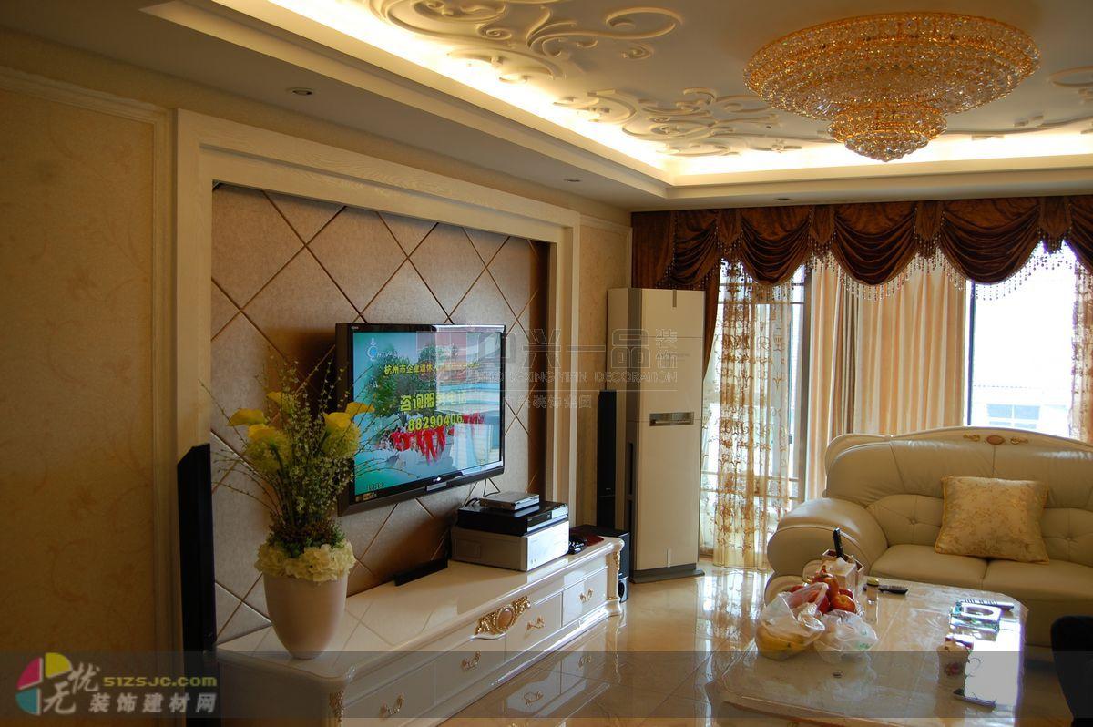 无锡威尼斯别墅欧式奢华风格装修设计实景图