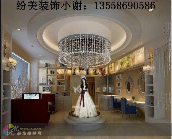 图片标题:成都专业婚纱店装修公司/资深婚庆公司装修公司