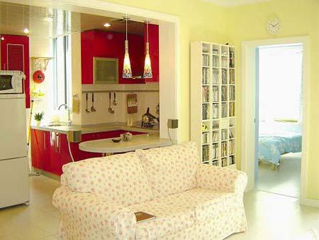 """装修""""亮丽舒适,10款小户型样板间.小房间如果到处都是柜子,高清图片"""