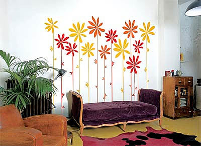 6张手绘墙画作品欣赏 制造自己私家风景