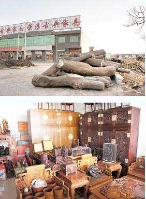 老编淘红木之:大城红木小件批发市场淘宝记(二)