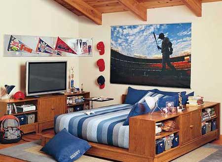 青少年小卧室装修效果图大全2011图片-新闻中心-无忧