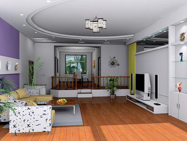 客厅设计图,装修效果图