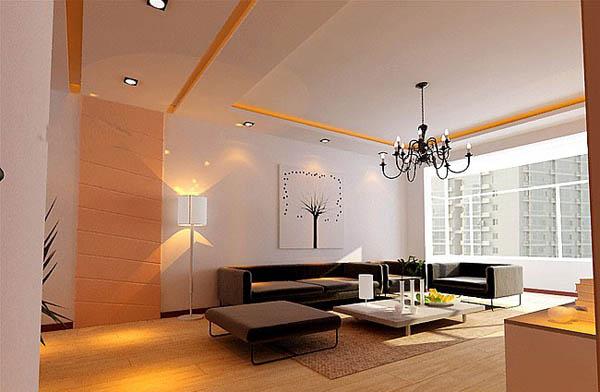 客厅装修效果图,潍坊装修装饰网