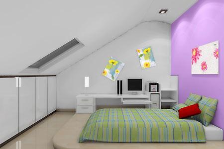 卧室装修效果图2011大全