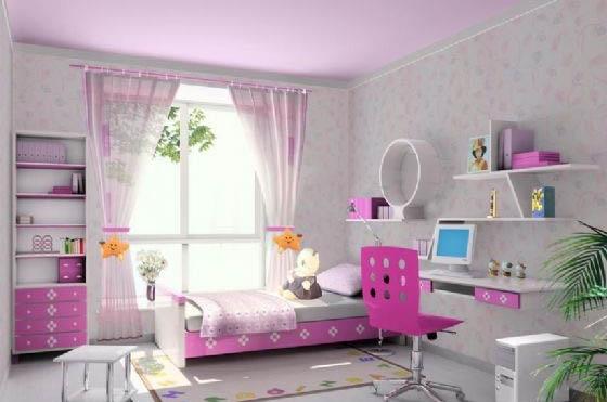 装饰效果图,卧室装修效果图
