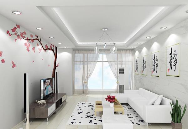 客厅装饰效果图,装修效果图