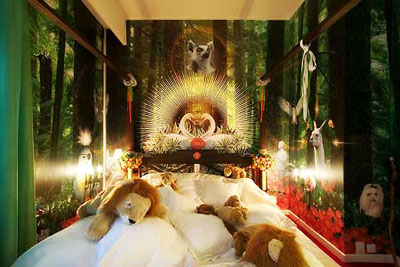 充满创意的卧室设计