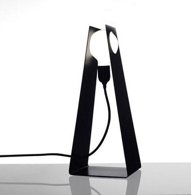 简洁灯具:格拉斯台灯