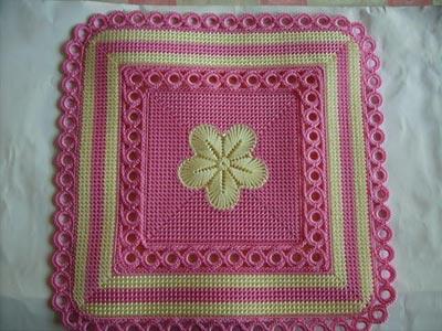 手工编织坐垫 简单中的高贵大方(组图)