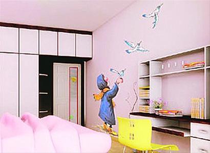 手绘墙面十足个性 充满智慧和创意开始逐渐流行