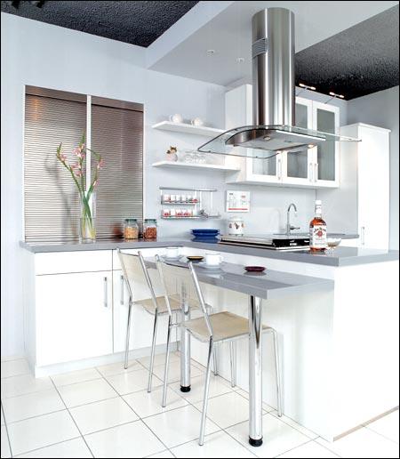 厨房小岛台装修效果图