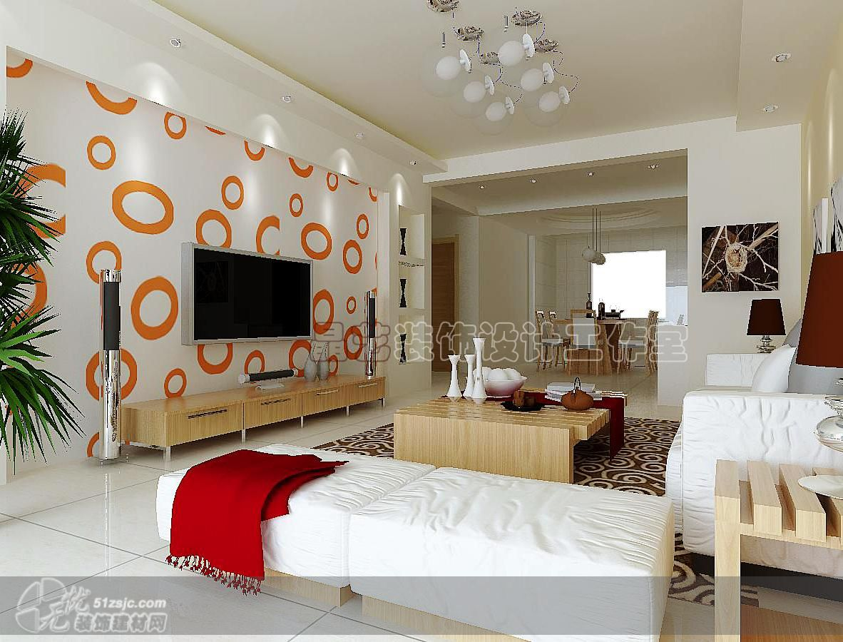 墻設計效果圖客廳影視墻設計平房客廳影視墻設計